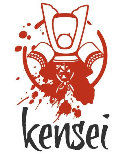 Kensei le jeu de figurines Japon médiéval - Jeu fantastique d'escarmouche et de bataille Logo_kensei